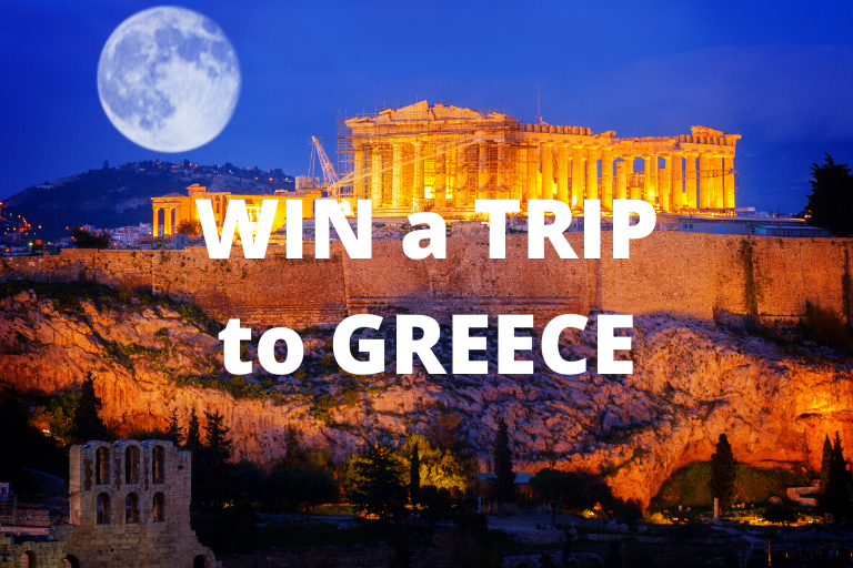 WIN a TRIP to GREECE!
