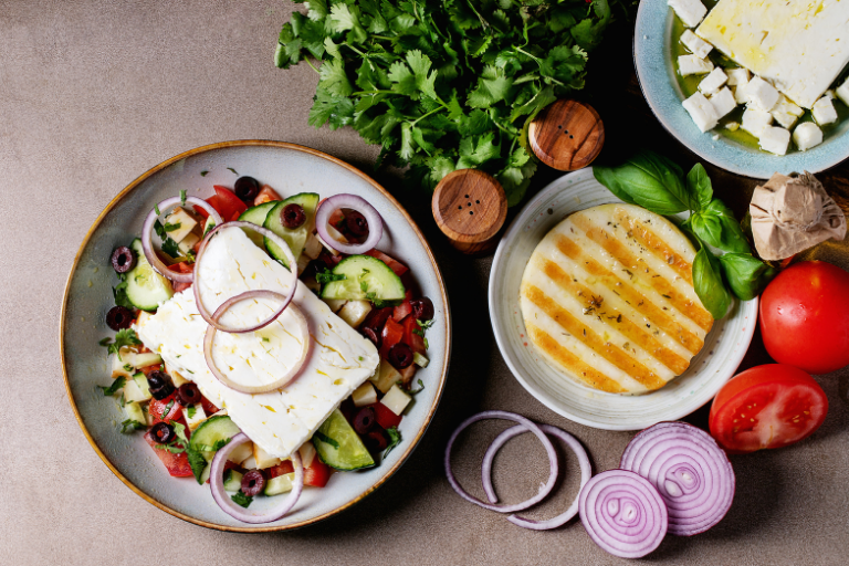 Feta vs Halloumi - The Showdown!