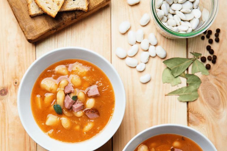 Fasolada - Greek White Bean Soup Recipe