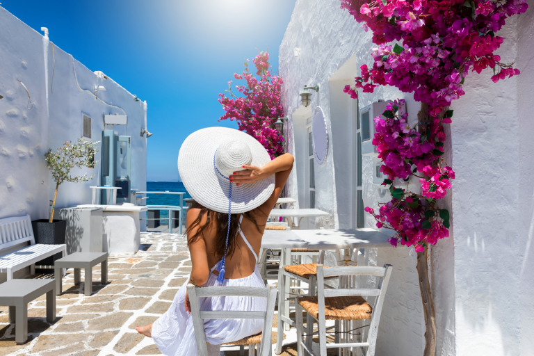 Celebrating Mothers Day in Greece