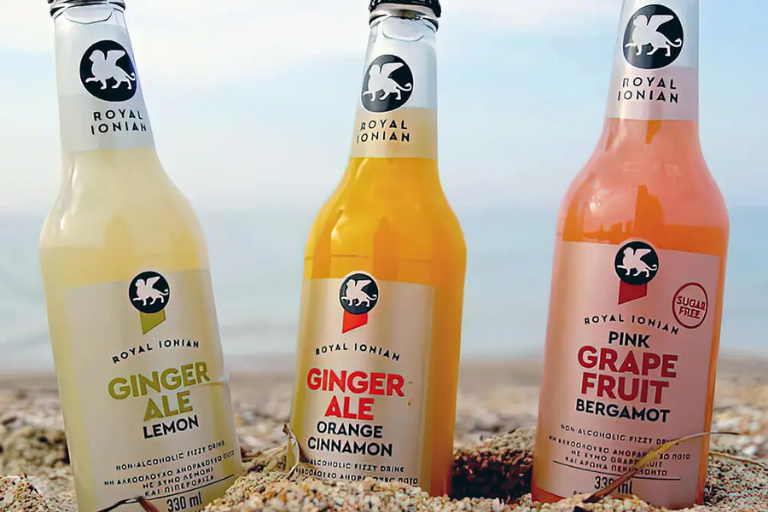 Explore our Royal Ionian Greek soft drinks