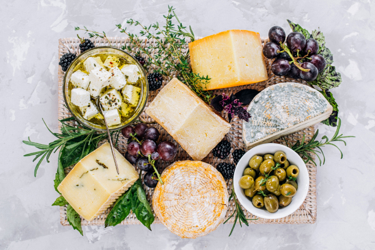 Greek Cheeses from the island of Lesbos